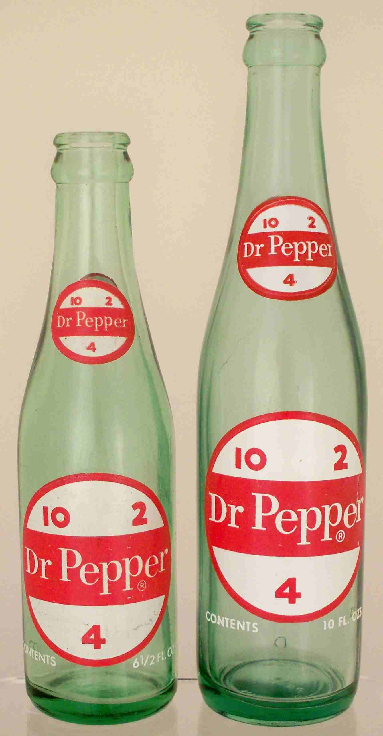 Old Dr Pepper Bottles